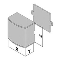 Väggmonterad kapsling EC30-4xx