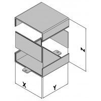 Väggmonterad kapsling EC10-1xx