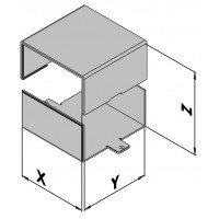 Väggmonterad kapsling EC10-2xx