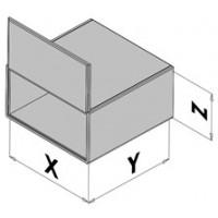 Kapsling med dörr EC30-8xx